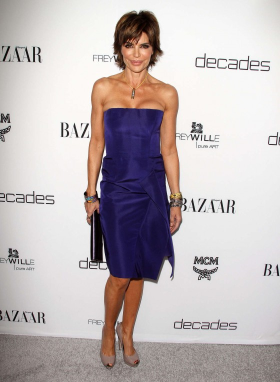 Lisa Rinna at Harpers BAZAAR Magazine celebration -05