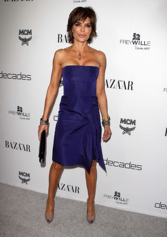 Lisa Rinna at Harpers BAZAAR Magazine celebration -07