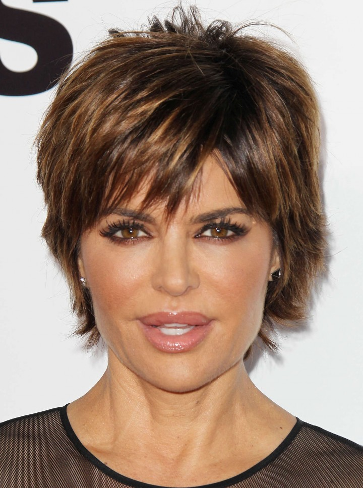 Latest Hair Do : Back to post Lisa Rinna  ?Veronica Mars? Premiere in Hollywood