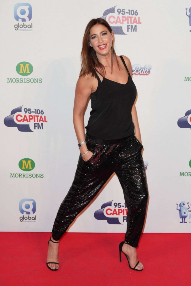 Lisa Snowdon - KIIS FM's Jingle Bell Ball Event in London Day 2