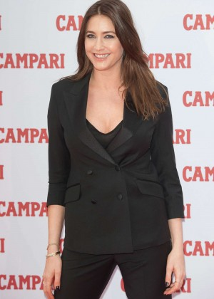Lisa Snowdon - Campari Calendar 2015 Launch in London