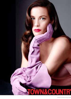 Liv Tyler - Town & Country Magazine (December-January 2015)