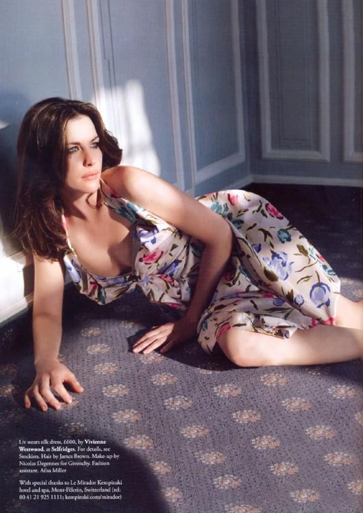 Liv Tyler – UK Tatler Magazine, July 2010 [MQ]