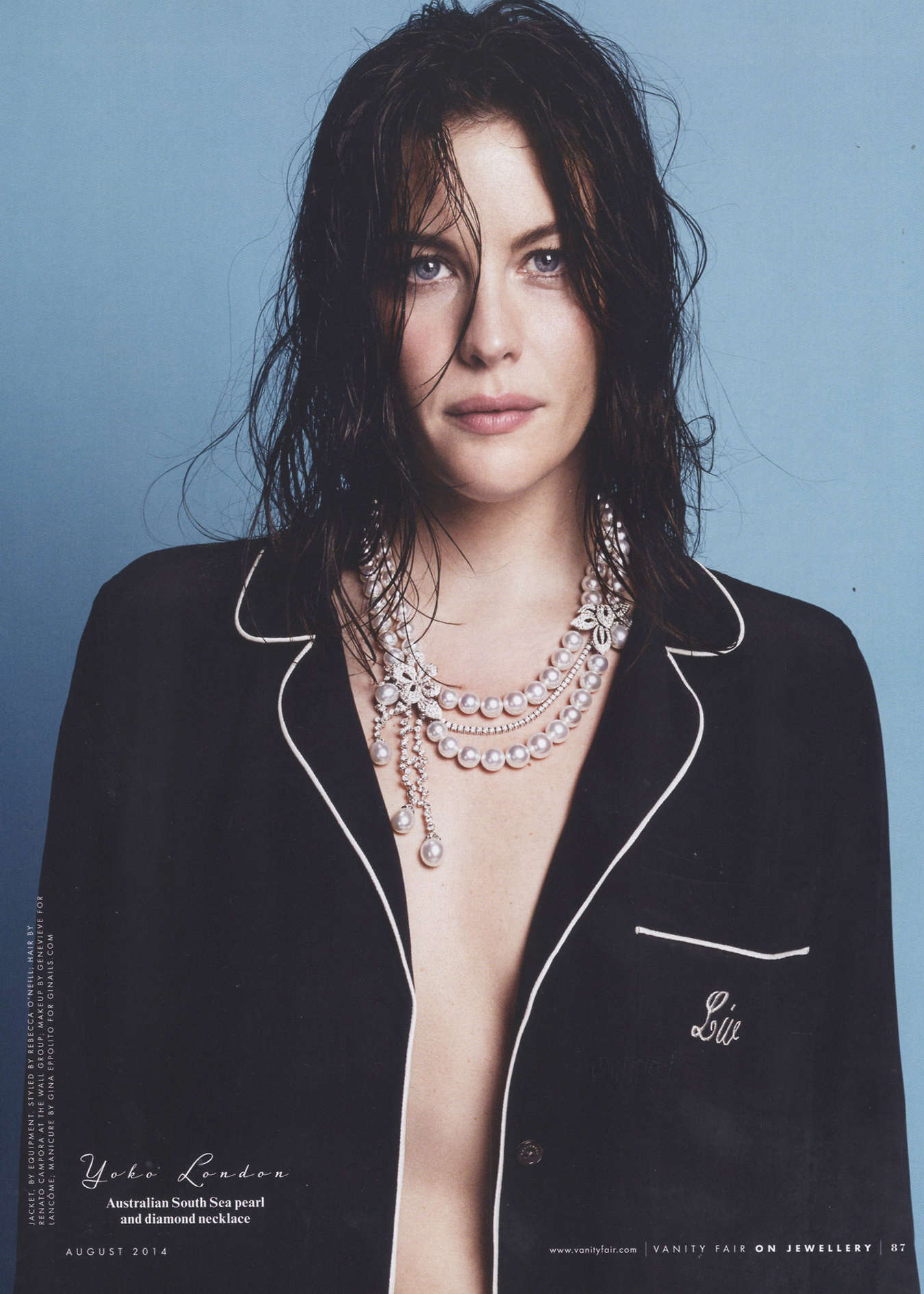 Liv Tyler: Vanity Fair US 2014 -02 - GotCeleb Liv Tyler