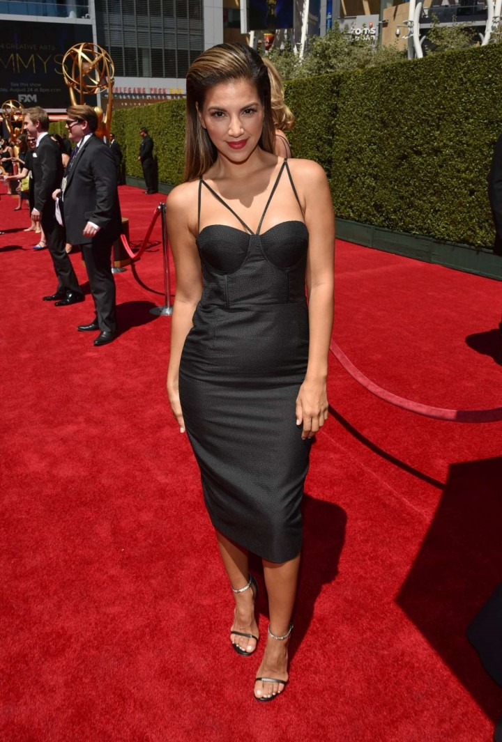 Liz Hernandez - Creative Arts Emmy Awards 2014