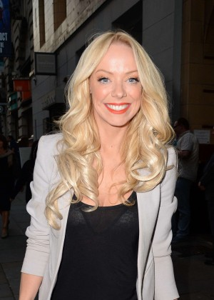 Liz McClarnon at Jersey Boys Press Night in Manchester
