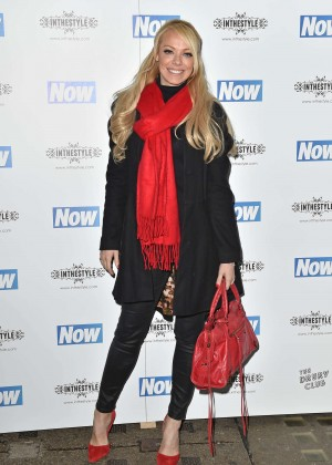 Liz McClarnon - Now Christmas Party in London