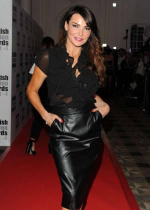 Lizzie Cundy - 2014 Scottish Fashion Awards in London