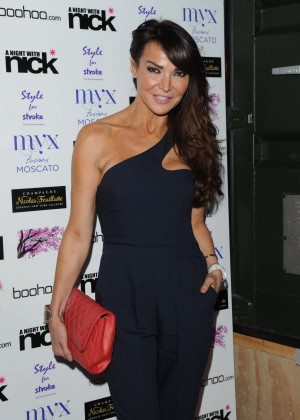 "Lizzie Cundy at ""A Night With Nick"" in London"