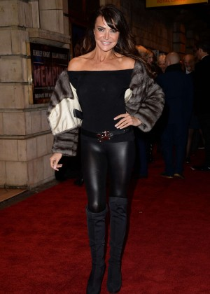 Lizzie Cundy - 'Memphis' Press Night Arrivals in London