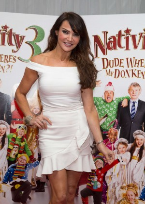"Lizzie Cundy - ""Nativity 3: Dude, Where's My Donkey?"" Premiere in London"