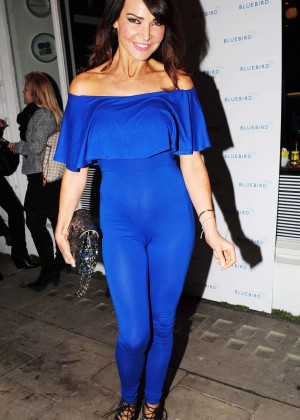 Lizzie Cundy - Bluedird Chelsea Launch Party in London