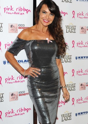 Lizzie Cundy - Filippo iOco's PINK London 2014 at Gilgamesh