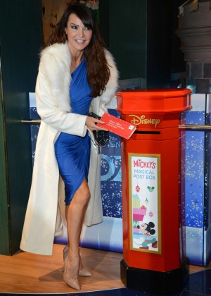 Lizzie Cundy - Share The Magic Christmas Charity Launch in London