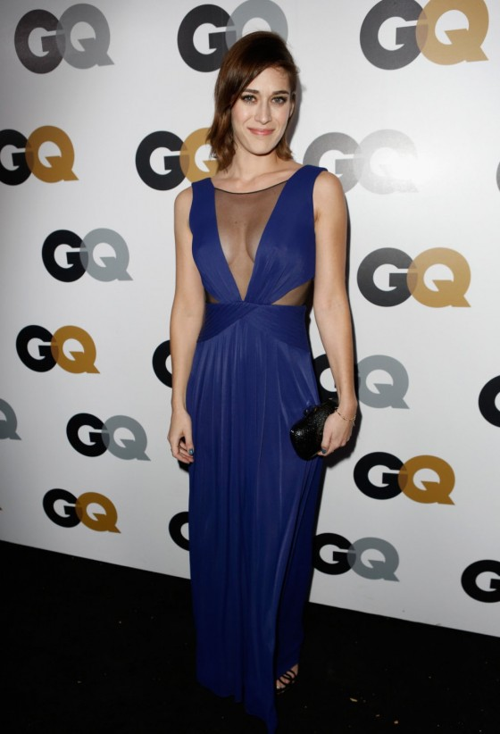 Lizzy Caplan - 2012 GQ Men of The Year party in Los Angeles-02