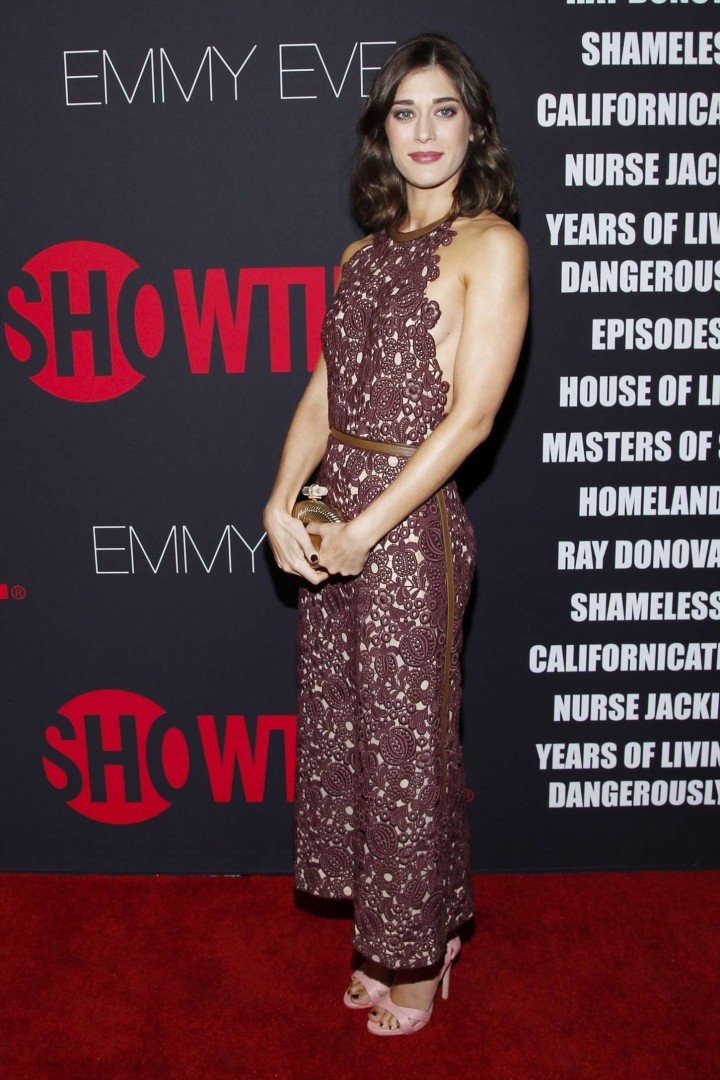 Lizzy Caplan - Showtime 2014 Emmy Eve Soiree in West Hollywood