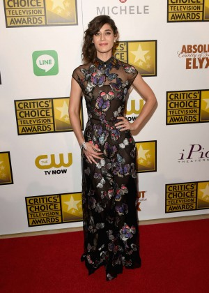 Lizzy Caplan -  2014 Critics Choice Television Awards in Beverly Hills -08