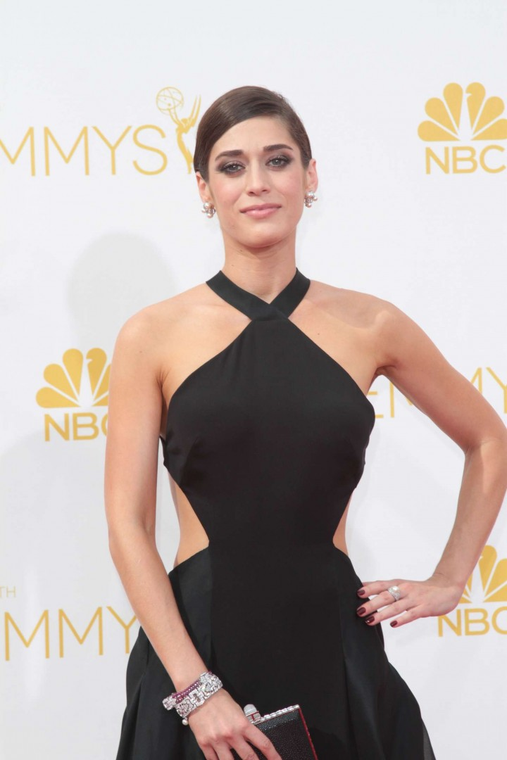 Lizzy Caplan - 66th annual Primetime Emmy Awards in LA