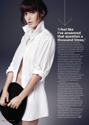 Lizzy Caplan: GQ South Africa 2014 -03