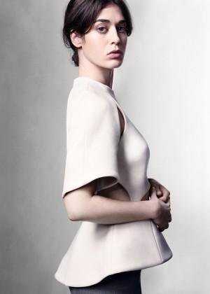 Lizzy Caplan - W Magazine (October 2014)