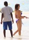 Lizzy Cundy Bikini Photos: 2014 in Barbados -01