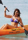 Lizzy Cundy Bikini Photos: 2014 in Barbados -28