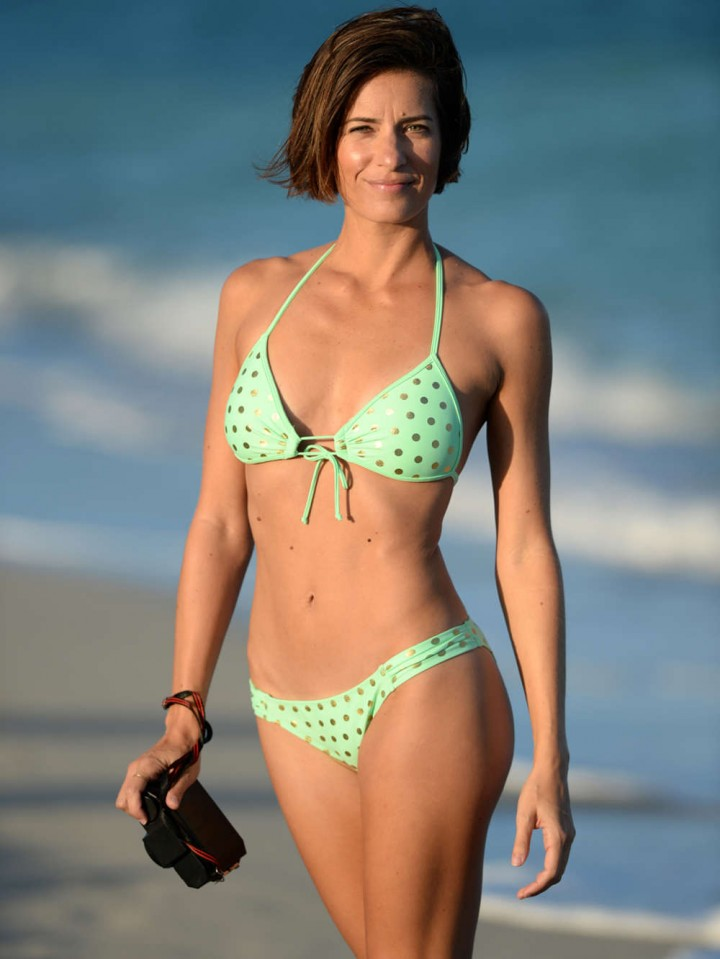 Logan Fazio – Wearing Bikini on the Beach in Miami