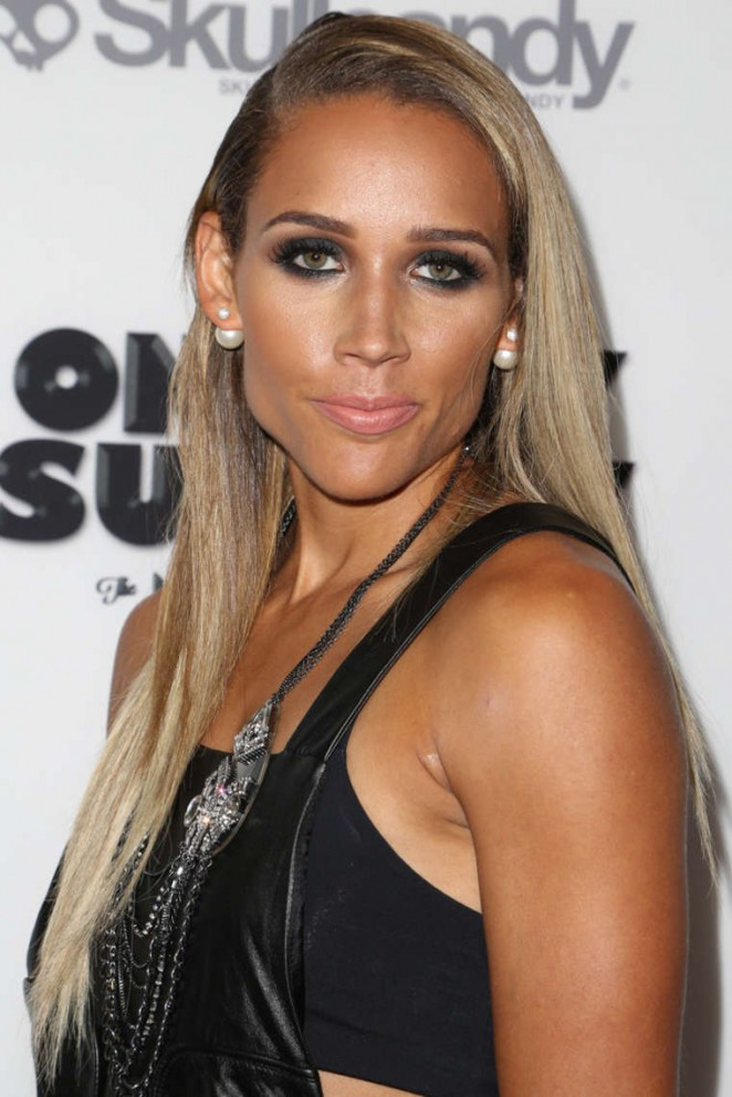 "Lolo Jones – Premiere ""On Any Sunday, The Next Chapter"" in Hollywood"