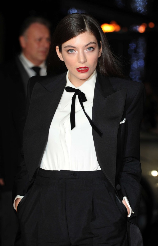 Lorde - 'The Hunger Games: Mockingjay Part 1' Premiere in London