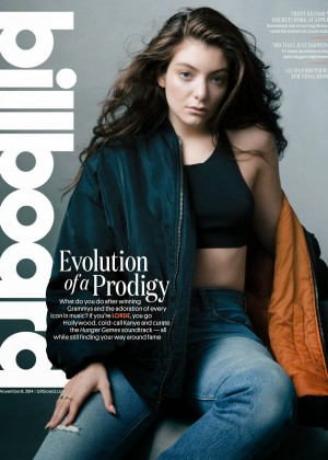 Lorde - Billboard USA Magazine (November 2014)