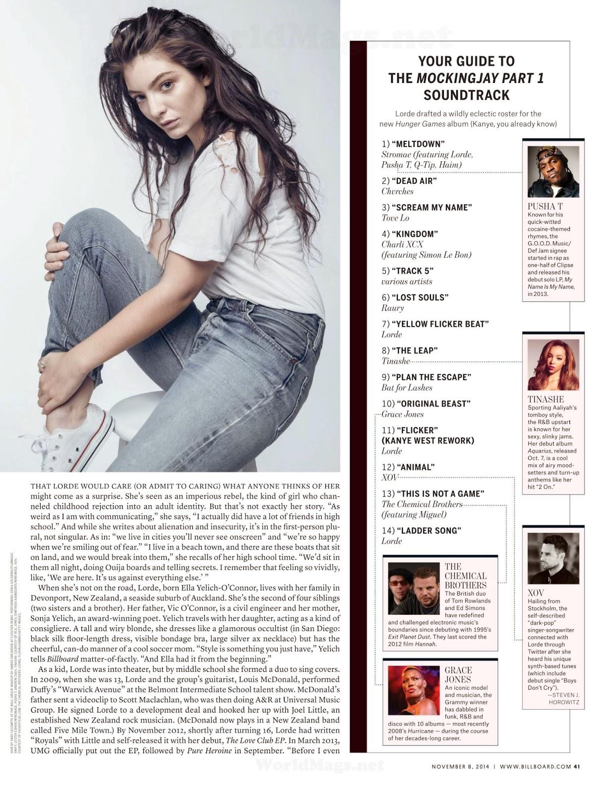 Lorde: Billboard USA 2014 -04 - GotCeleb