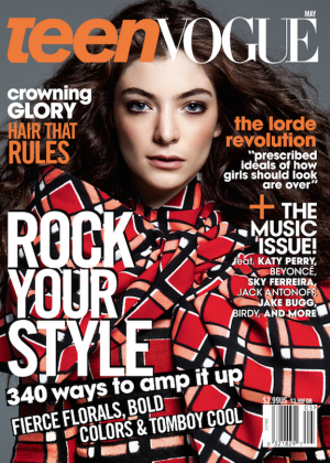 Lorde: Teen Vogue 2014 -07