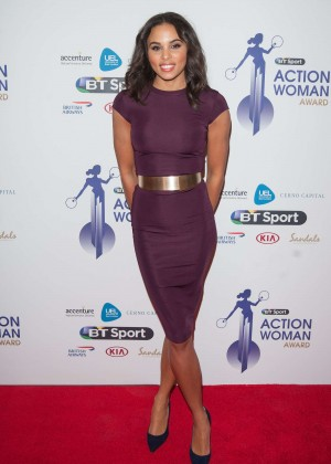 Louise Hazel - BT Sport Action Woman Awards in London