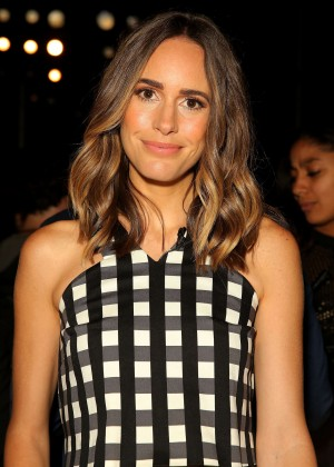 Louise Roe - Marissa Webb Fashion Show in NYC