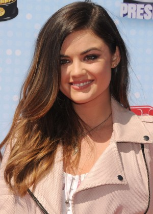 Lucy Hale Leggy at 2014 Radio Disney Music Awards -17