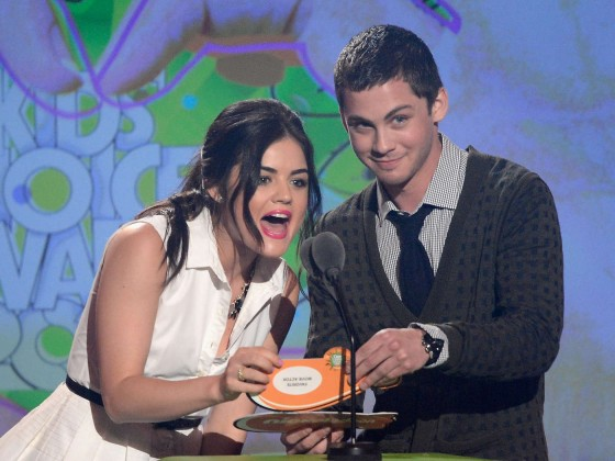 Lucy Hale – 2013 Kids Choice Awards -02
