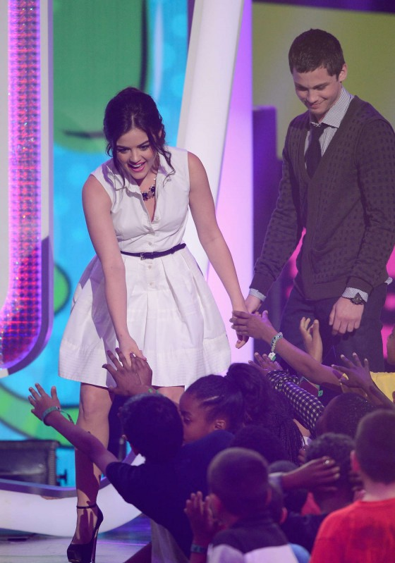 Lucy Hale – 2013 Kids Choice Awards -03