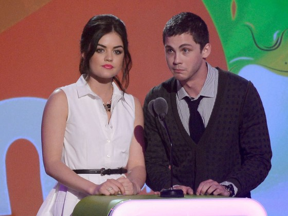 Lucy Hale – 2013 Kids Choice Awards -04