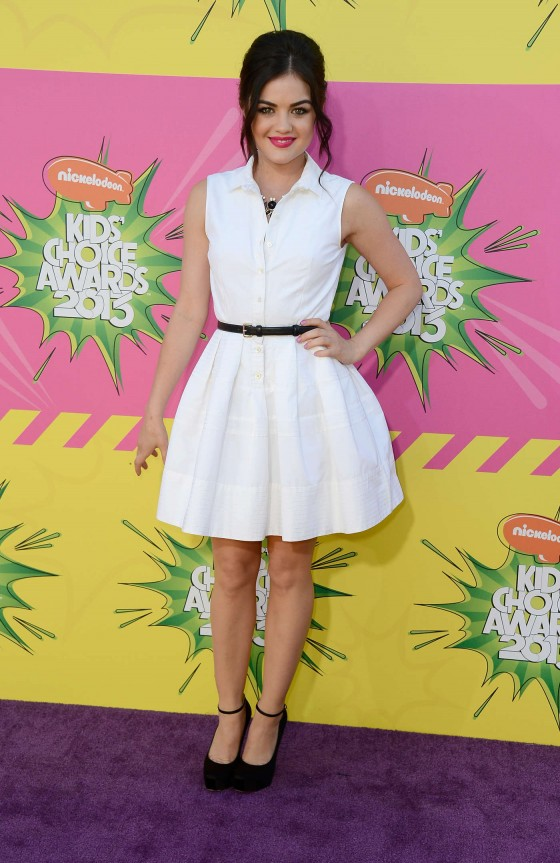 Lucy Hale – 2013 Kids Choice Awards -08