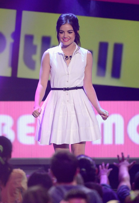 Lucy Hale – 2013 Kids Choice Awards -09