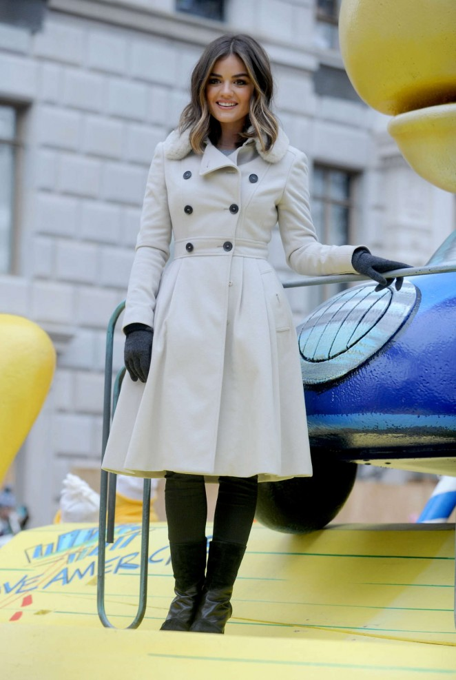 Lucy Hale: 2014 Macys Thanksgiving Day Parade -04