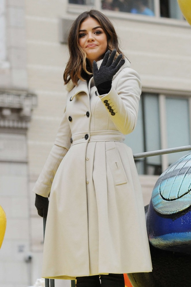 Lucy Hale: 2014 Macys Thanksgiving Day Parade -05