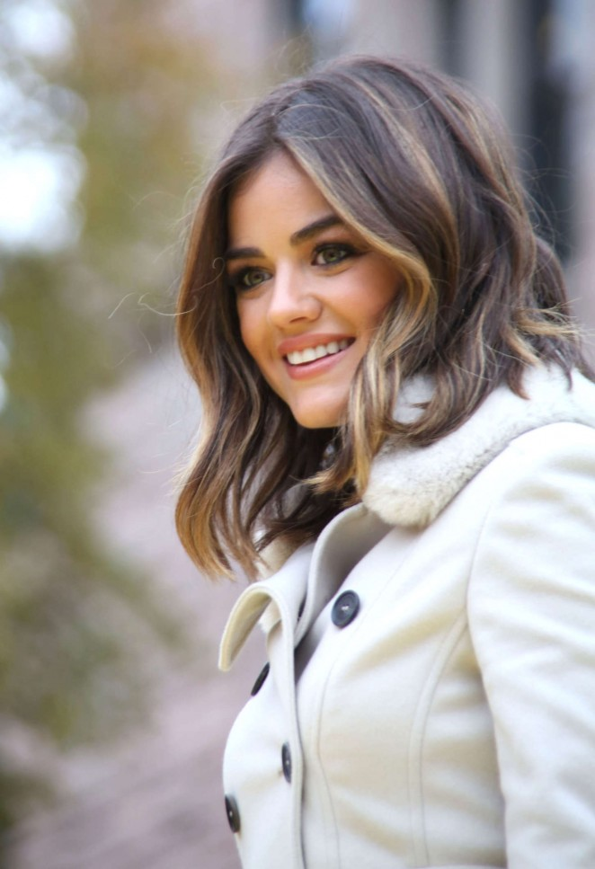 Lucy Hale: 2014 Macys Thanksgiving Day Parade -07