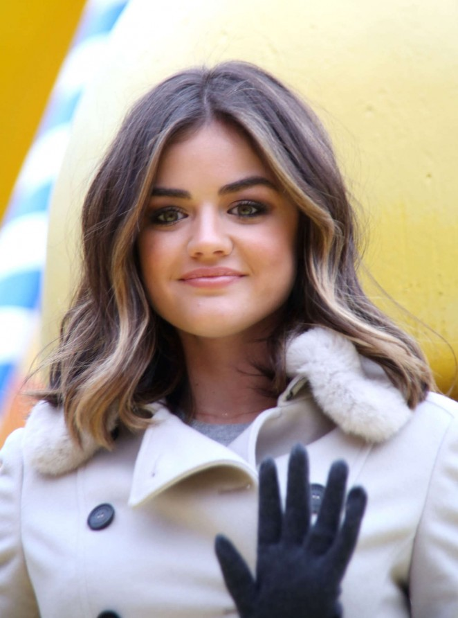 Lucy Hale: 2014 Macys Thanksgiving Day Parade -08