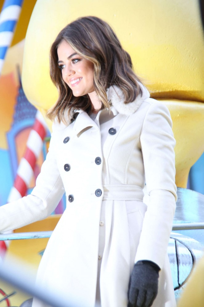 Lucy Hale: 2014 Macys Thanksgiving Day Parade -09