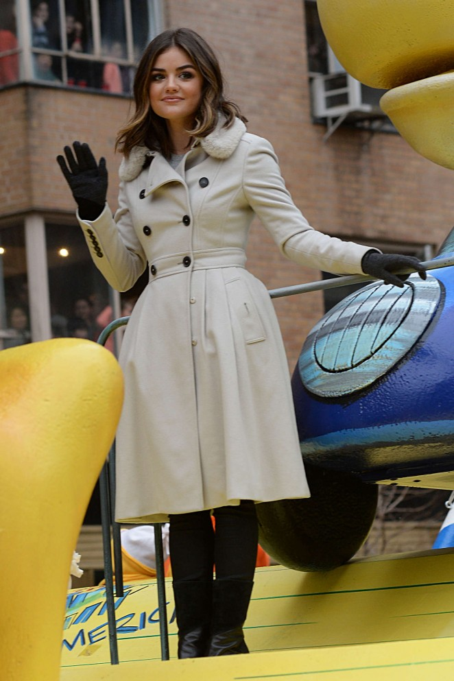 Lucy Hale: 2014 Macys Thanksgiving Day Parade -20