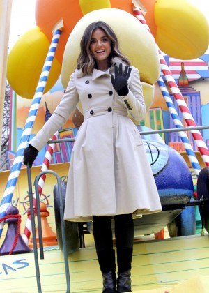 Lucy Hale - 88th Annual Macy's Thanksgiving Day Parade in NYC