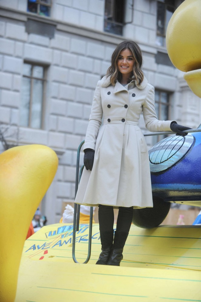 Lucy Hale: 2014 Macys Thanksgiving Day Parade -22