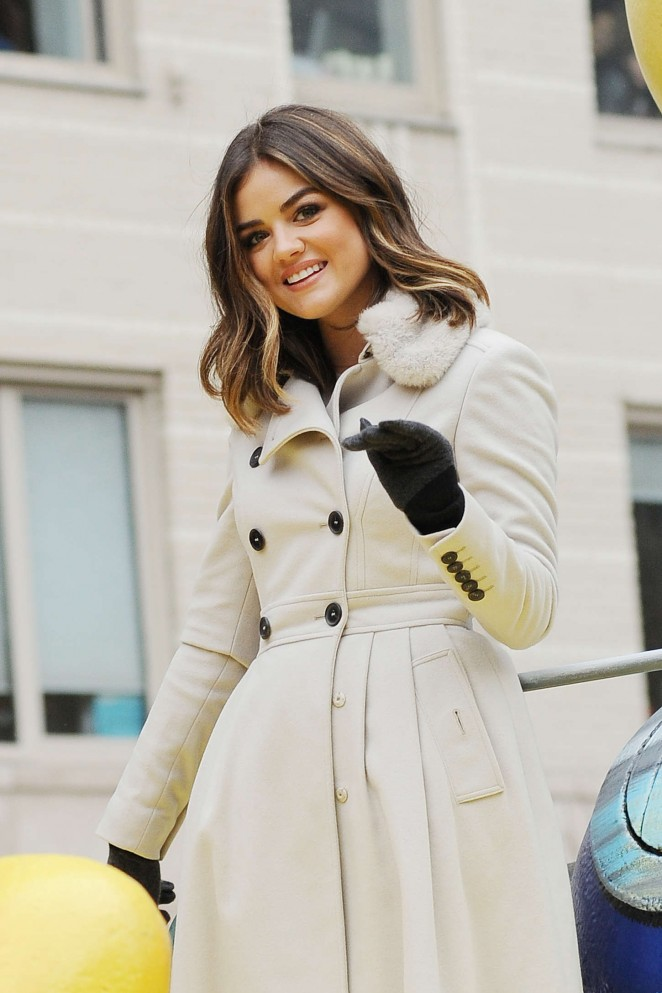 Lucy Hale: 2014 Macys Thanksgiving Day Parade -23