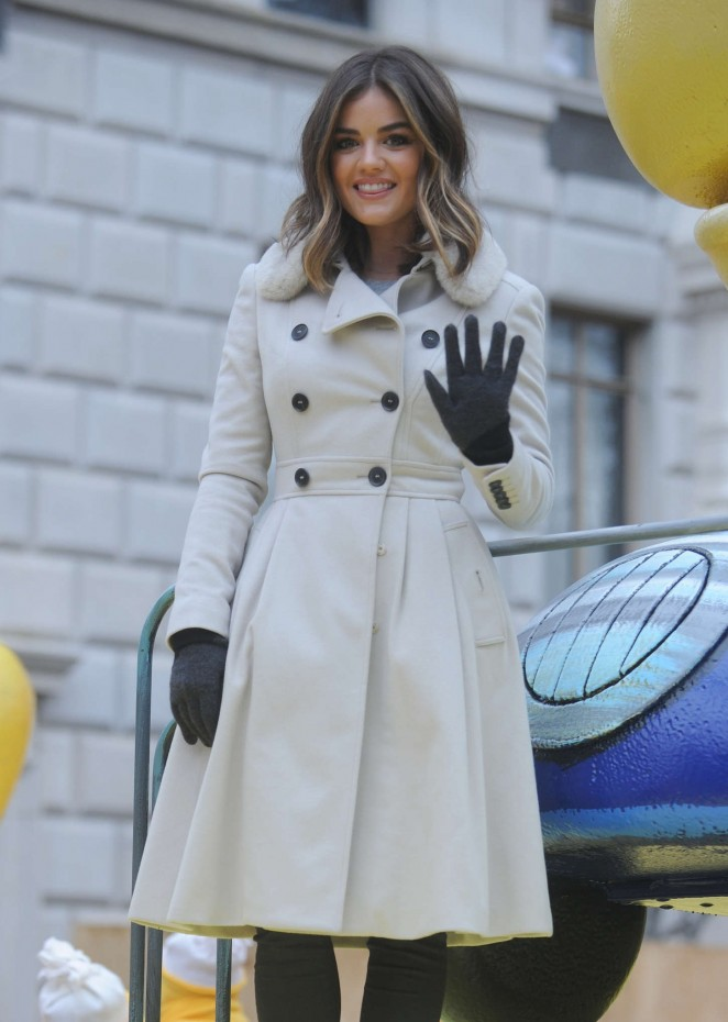 Lucy Hale: 2014 Macys Thanksgiving Day Parade -25